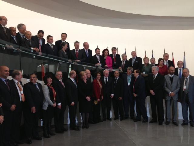 1er Sommet des Parlements de l'UPM 6 et 7 avril 2013